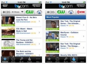 TV.com iPhone 300x220 How to Watch TV On Your iPhone