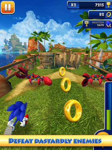Sonic Dash App