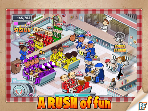 Diner Dash Rush Review