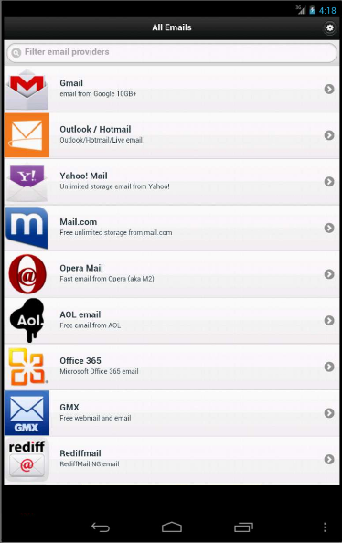 All Email Providers Review | AppsPirate