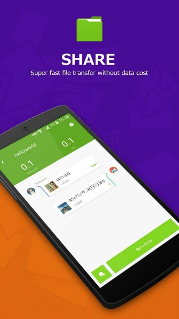 Super File Manager Sharing