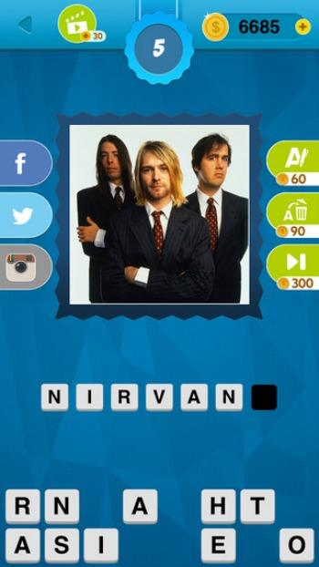 90's Quiz Game App