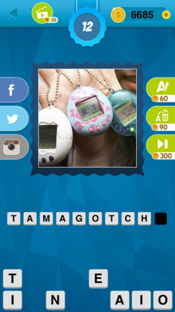 90's Quiz Game Trivia