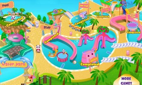 Fun Pet Waterpark Aqua World Game