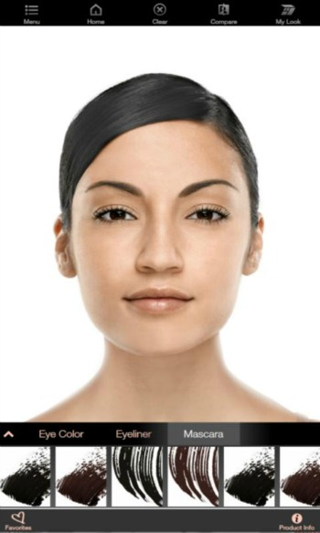 Mary Kay Virtual Makeover Options