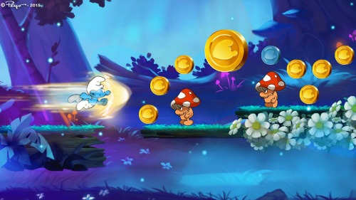 Smurfs Epic Run Game