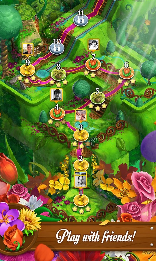 Blossom Blast Saga Game