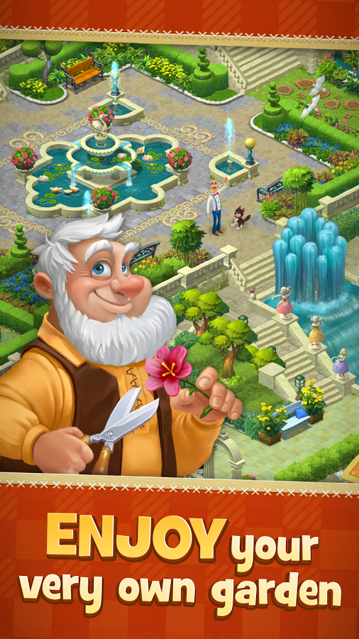 Gardenscapes Game