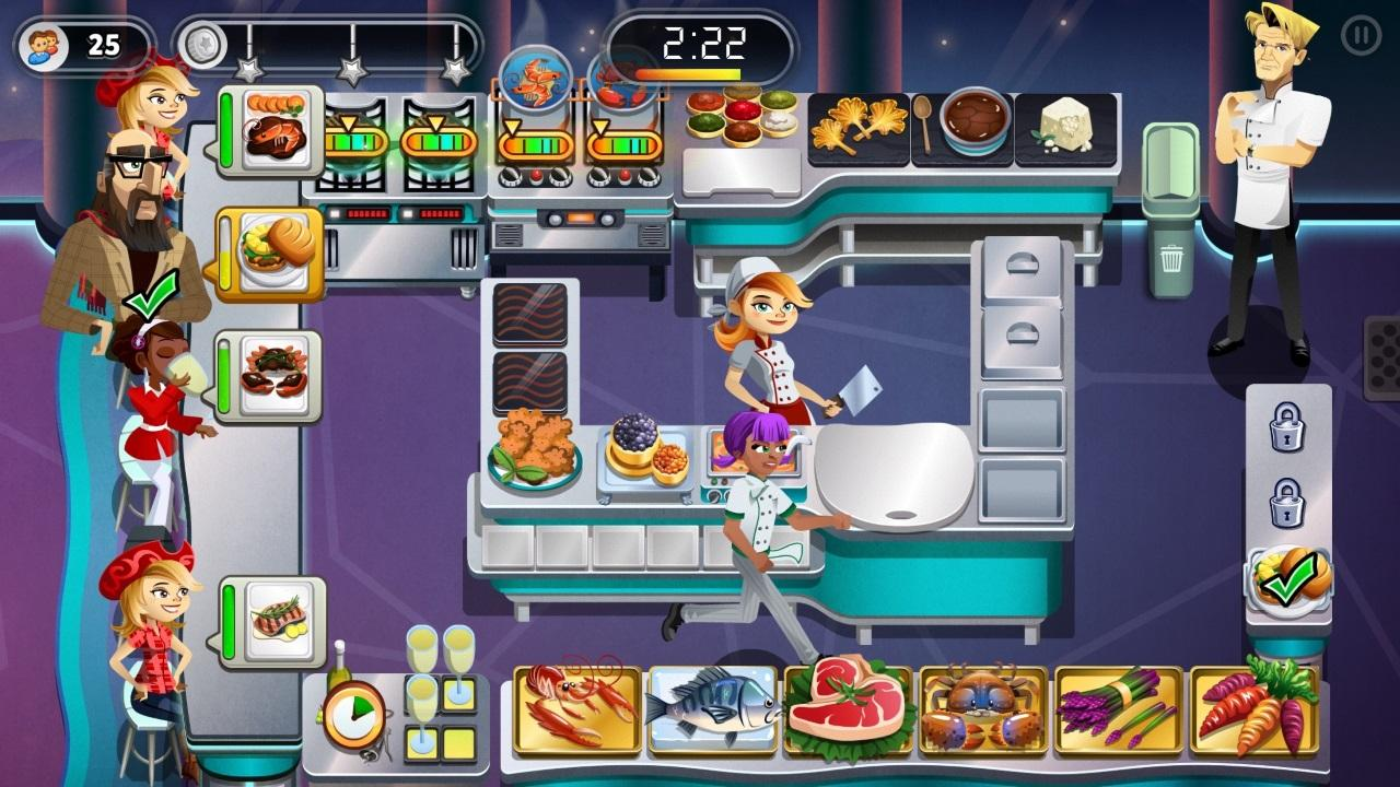 Restaurant Dash Gordon Ramsay Game