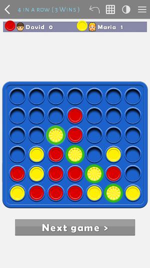 4 in a Row App