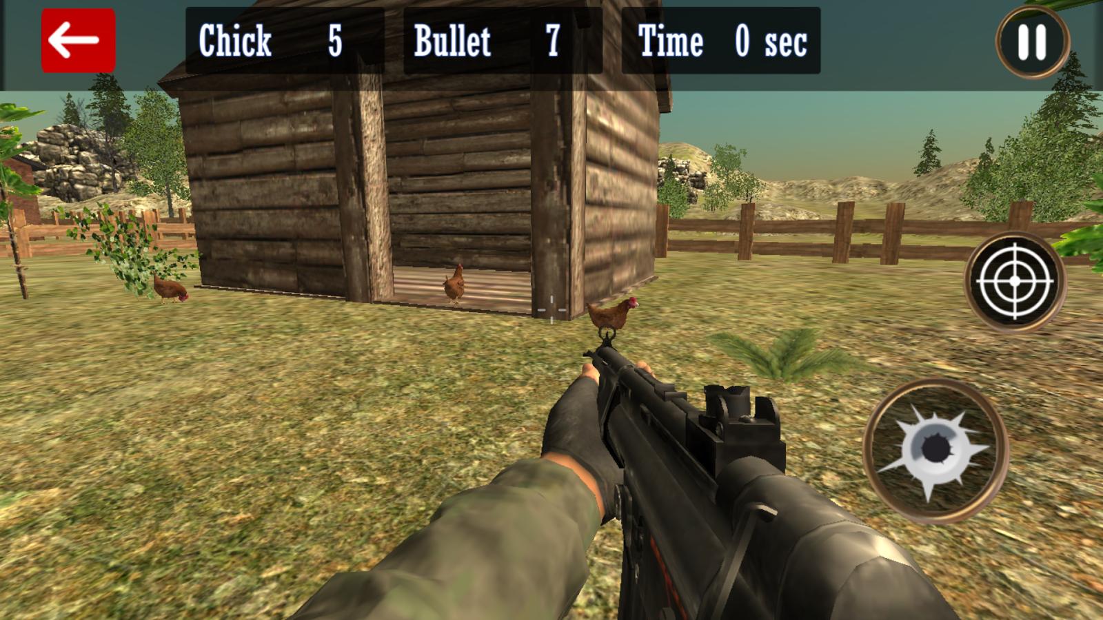 Chicken Shoot Game