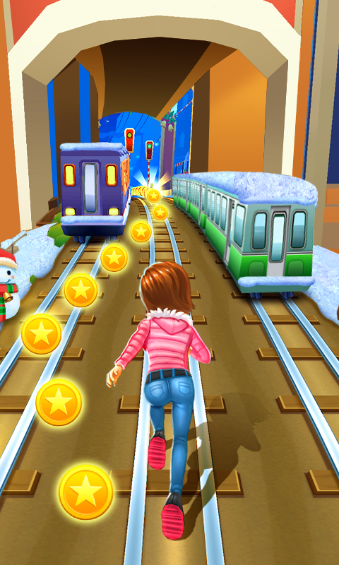 Subway Princess Runner App
