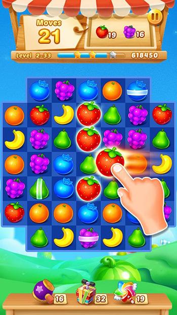 Fruits Match App