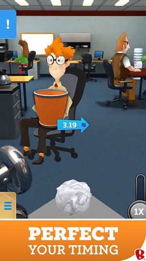 Paper Toss Boss App