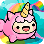 Happy Hop Kawaii Jump Icon