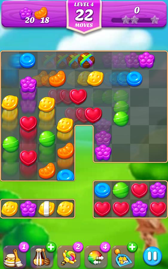 Lollipop & Marshmallow Match 3 App