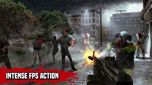 Zombie Hunter Survive the Undead Horde Apocalypse App