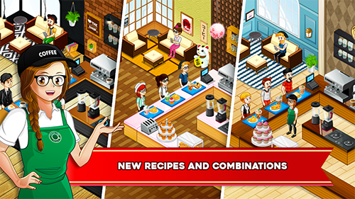 Cafe Panic Cooking Restaurant App