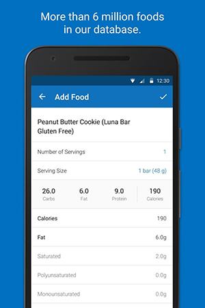 Calorie Counter – MyFitnessPal App