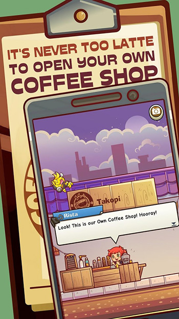Own Coffee Shop Idle Game App