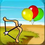 Balloon Bow & Arrow Icon
