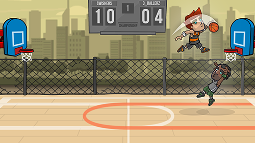 Basketball Battle App