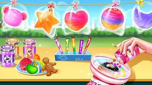 Cotton Candy Shop App