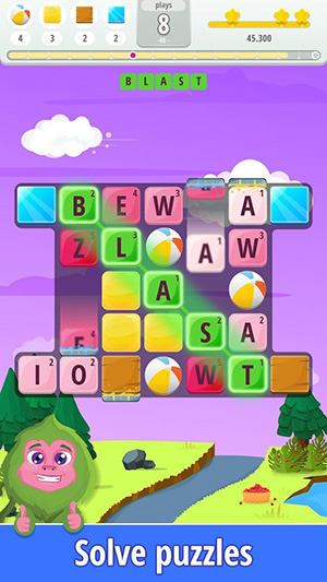 Letters Blast App