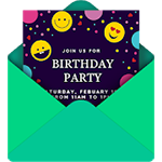Invitation Card Maker Icon