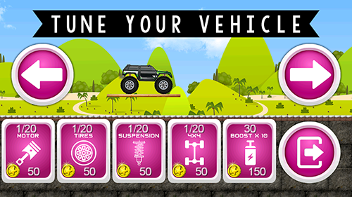 Monster Truck Hero App