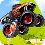 Monster Truck Hero Icon