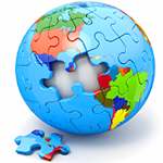 Jigsaw Puzzles Countries Icon