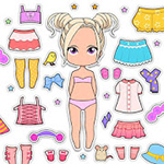Chibi Doll Icon