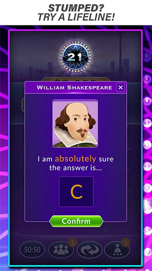 Who Wants to Be a Millionaire App