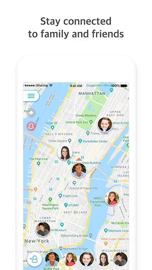 iSharing - GPS Location Tracker for Family Review