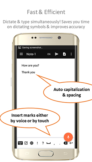 Speech To Text Notepad App