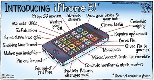 iphone 5 properties