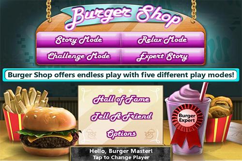 Burger Shop App