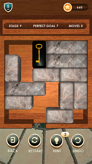 Unblock Puzzle Slide Blocks App
