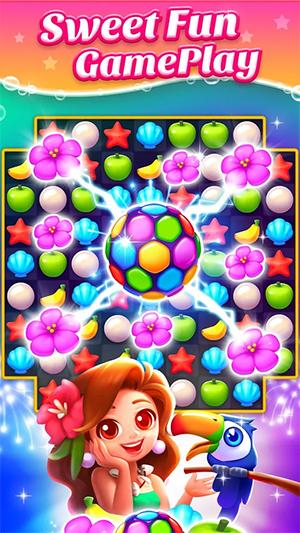 Island Crush - Match 3 Puzzle App