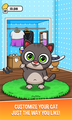 Oliver the Virtual Cat App